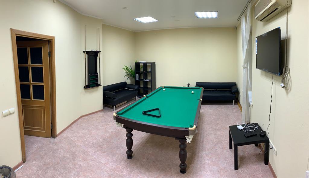 Зал отдыха в наркологической клинике Екатеринбург