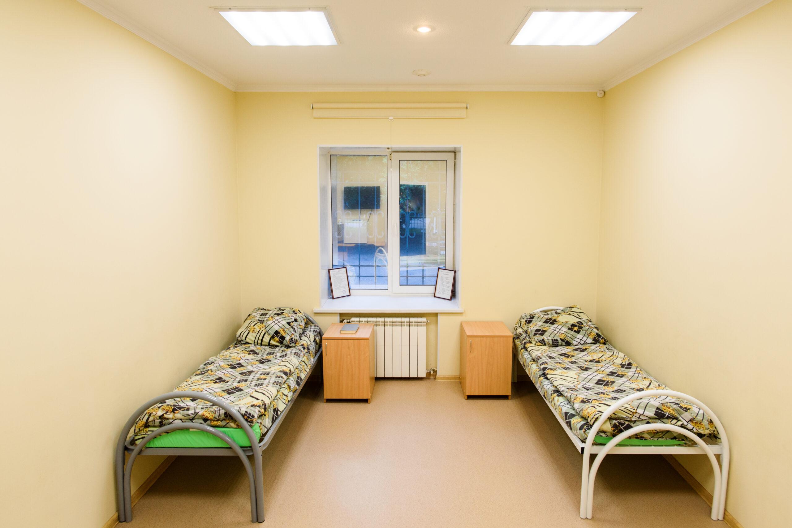 Палата в наркологической клинике Екатеринбурга