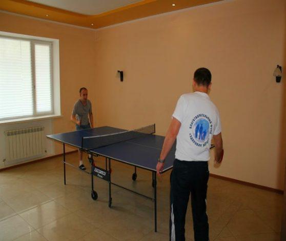 Тенис в реб центре в Казани