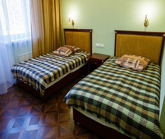 Спальня в реабилитации для наркоманов и алкоголиков Красноярск