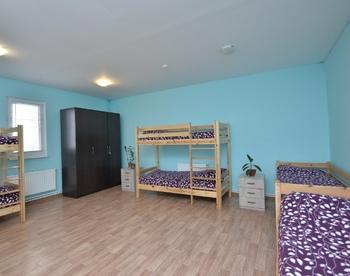 Комната в реабилитационном центре для алкоголиков в Воронеже