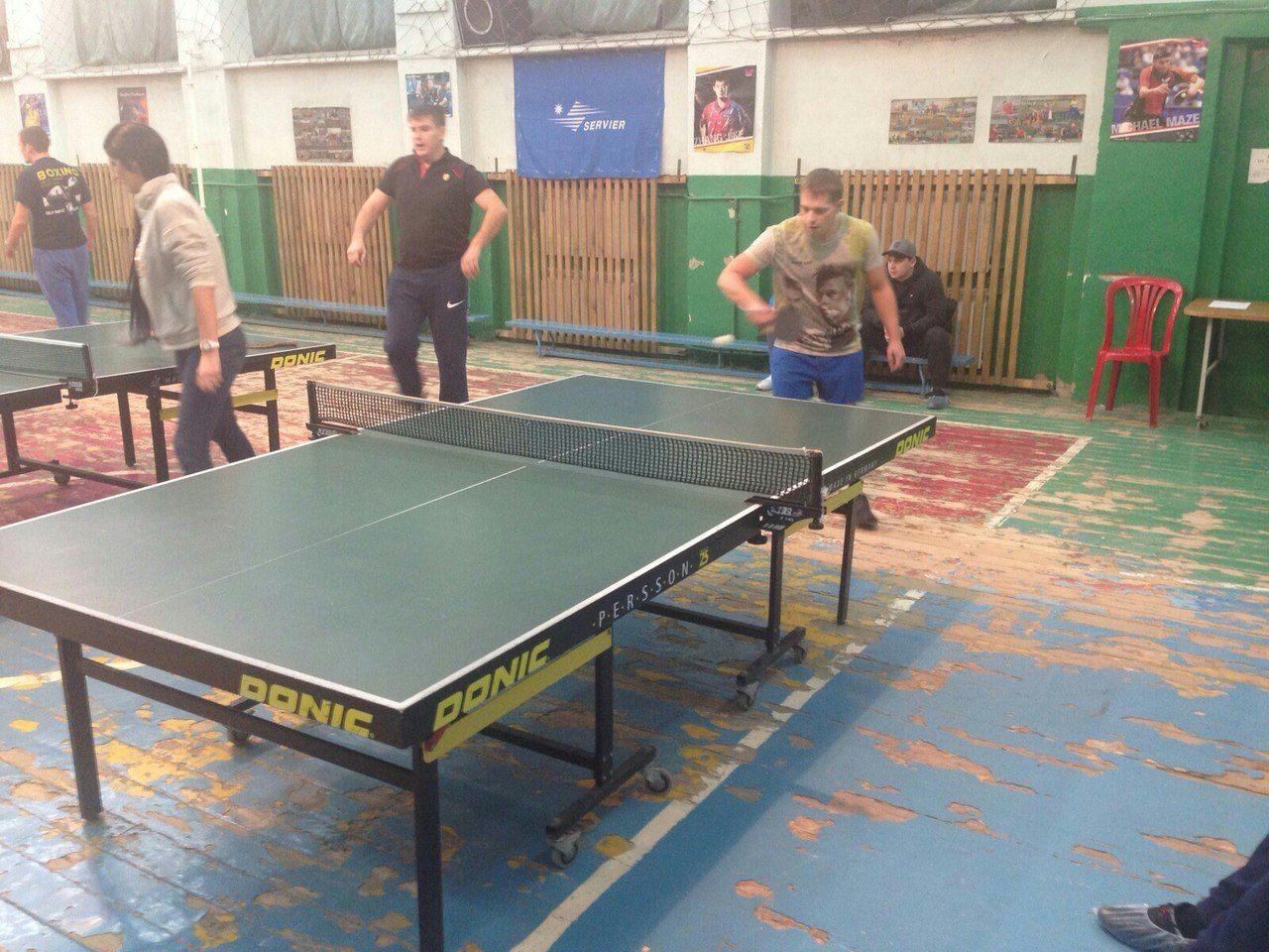 Тенис в реб центре для алко и наркозависимых Барнаул